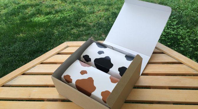 牛柄ロールケーキ2本セット。接待の手土産-秘書が選んだ至極の逸品-